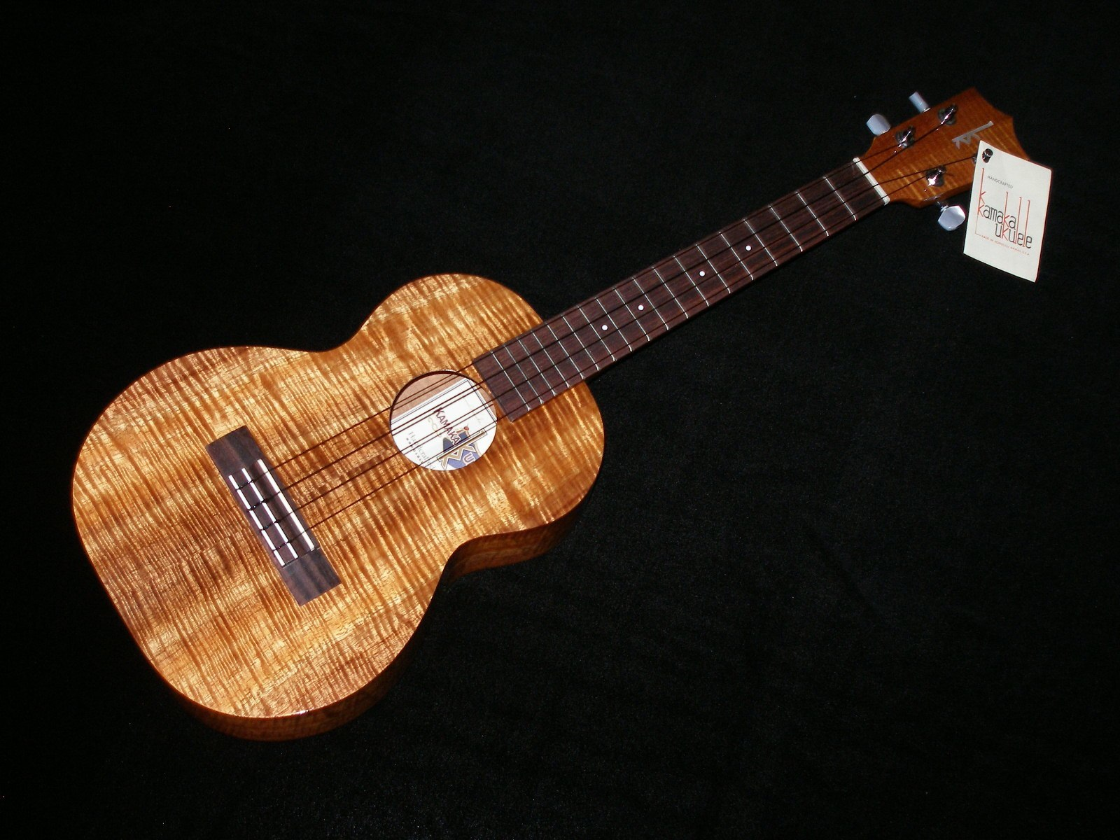 Ukulele Friend Custom Kamaka Tenor Ukulele - Ukulele Friend