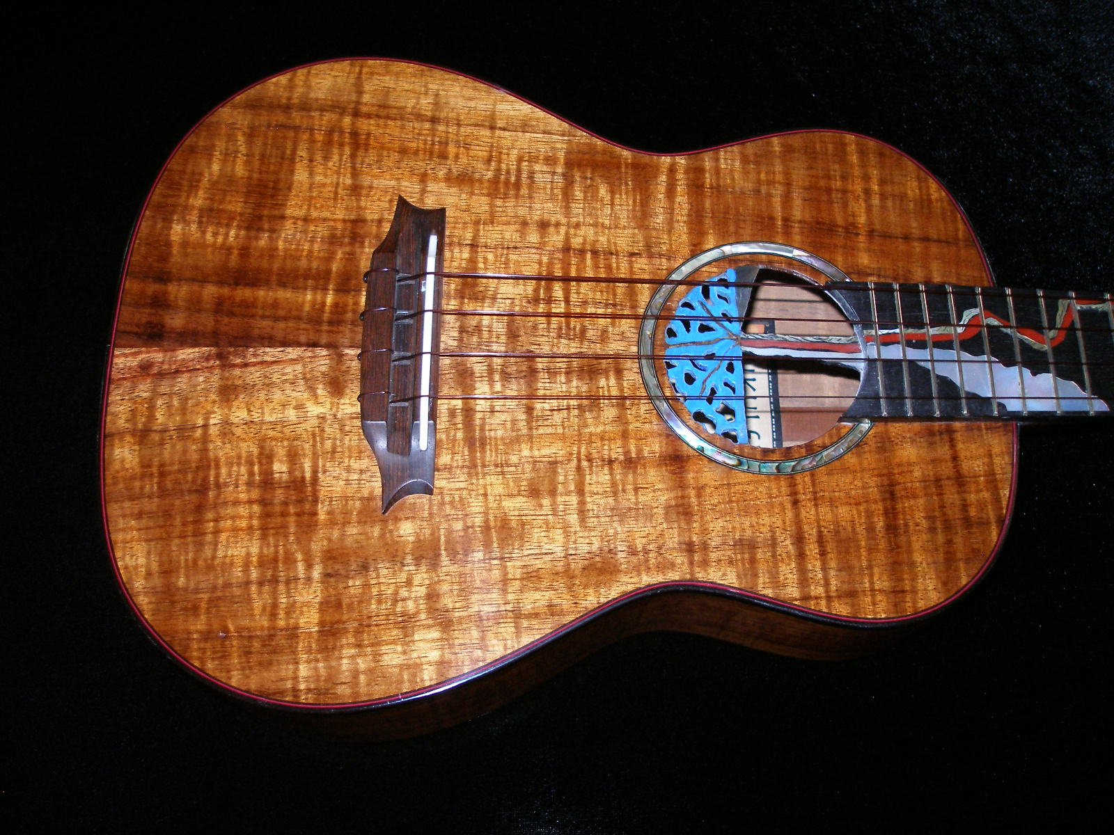 Ukulele Friend Custom Pu Uwai Tenor Ukulele Ukulele Friend