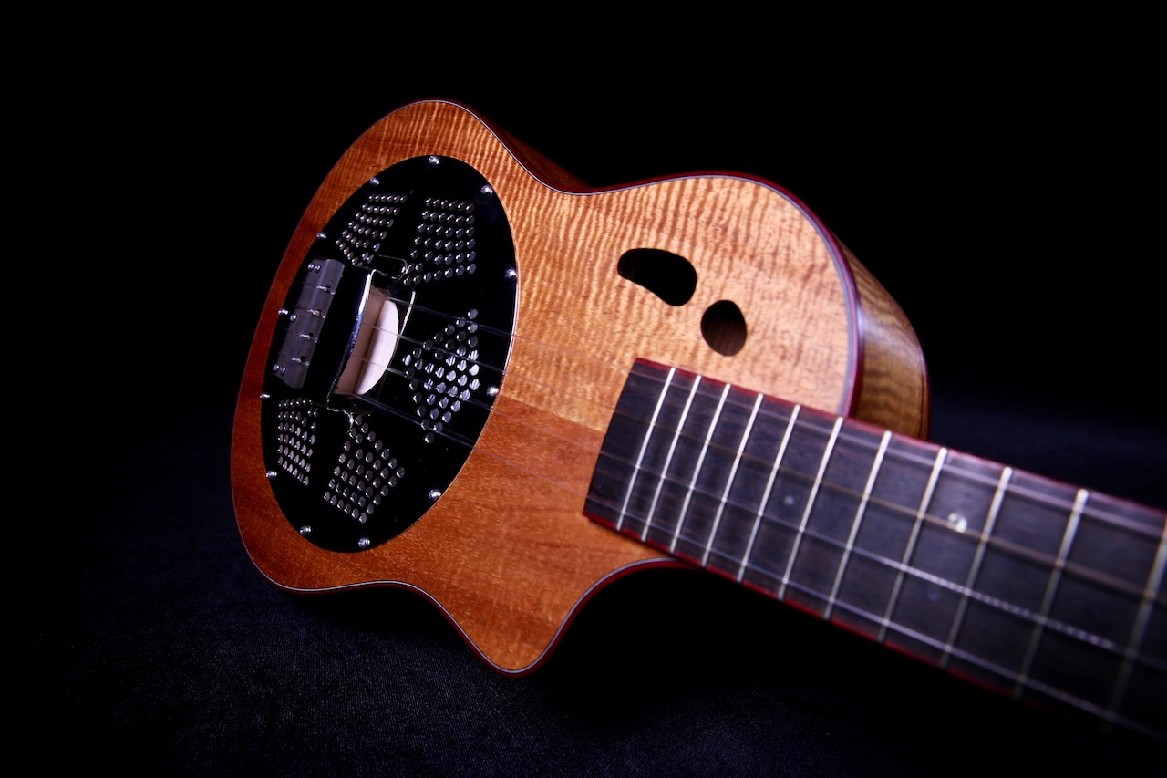 Ukulele Friend Custom Mya Moe Resonator Tenor Ukulele